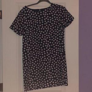 Jcrew polka dot mini dress